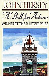 A Bell for Adano by John Hersey. Image courtesy of Amazon.com