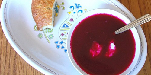 Recipes for cold beet soup
