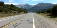 Road from Bariloche