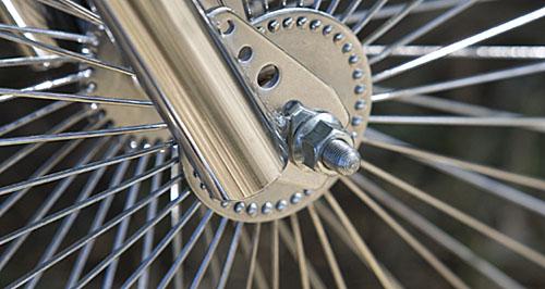 Bicycle wheel. Copyright Joe Coca
