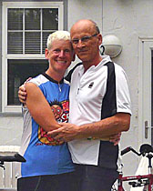 ExperiencePlus! bicycle travelers June Wheeler and Peter Herzog