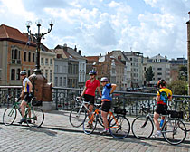 ExperiencePlus! bicyclists in Belgium