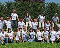 A few ExperiencePlus! Bicycle Tours staff members.