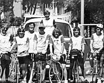 1985 ExperiencePlus! Bike Across Italy group