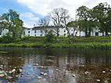 Mary Culter on the banks of the River Dee in Scotland