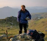 Martin Sheen on the Camino de Santiago in Spain