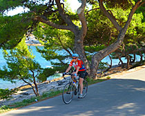 Enjoying the ExperiencePlus! ride from the Hotel Pastura in Postira, Croatia