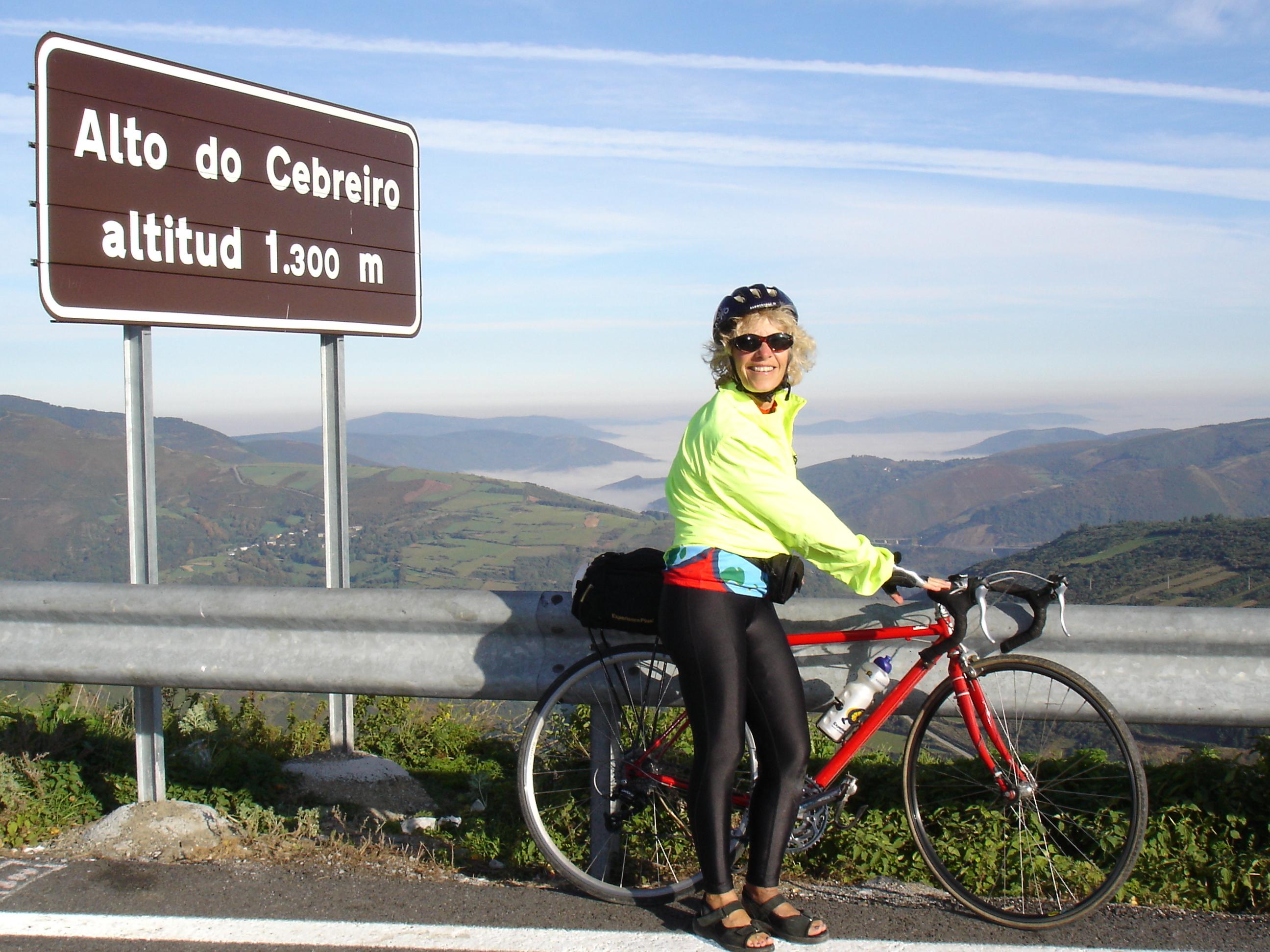 Gerri near O'Cebriero
