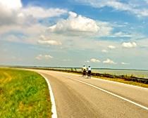 Along the Po Delta