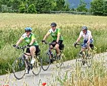 Riding across Italy with ExperiencePlus!