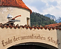 The Romantic Road which we follow on the Bavaria Back Roads
