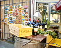 """Super Tuscan"" wine anyone? Photo by ExperiencePlus! traveler Bill Hunter"