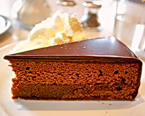Sachertorte somethign to look forward to tasting in Vienna with ExperiencePlus!