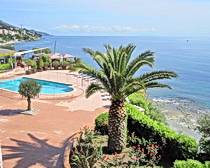 View from the ExperiencePlus! hotel in Bastia. Photo by ExperiencePlus! traveler Nancy Andreae