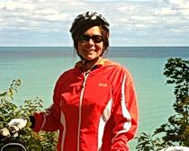 Kelly Barofsky The ExperiencePlus! 2013 Send A Teacher Traveling Award recipient.