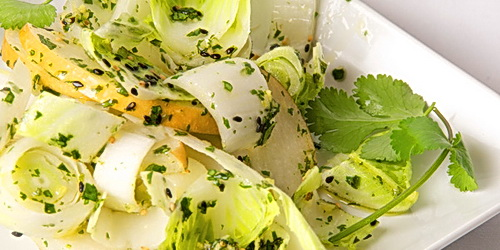 Belgian Endive and Pear Salad