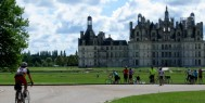 Day 2 Arriving at Chambord castle