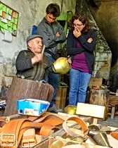 A bell maker in Sardinia with ExperiencePlus!