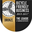 Bicycle Friendly Business from the league of American Cyclists