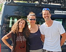 Silvija with fellow ExperiencePlus! tour leaders Cristina Taioli, and Ante Vujanovi. Photo by ExperiencePlus! traveler Rob Wessel