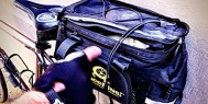 ExperiencePlus! Bicycle Tours rear rack pack.