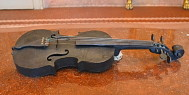 Stradivarius violin on display in Cremona