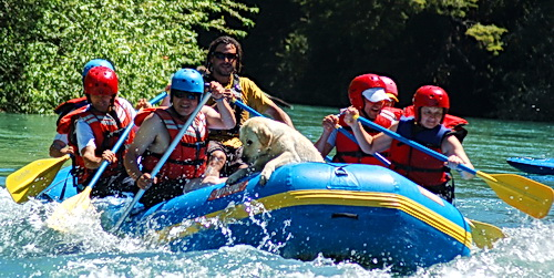 Rafting on the Futaleufu