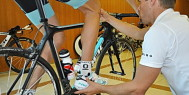 A Retul bike fitting