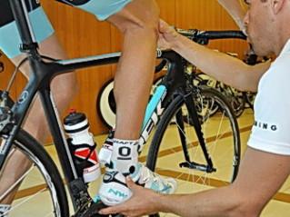 A Retul bike fitting