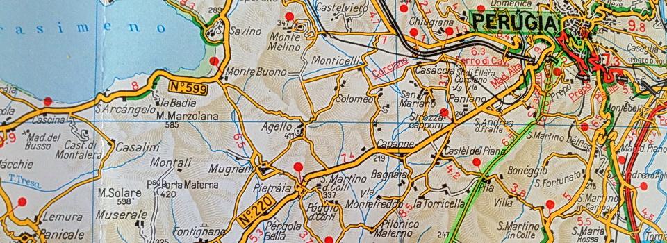 Touring Club Italiano maps
