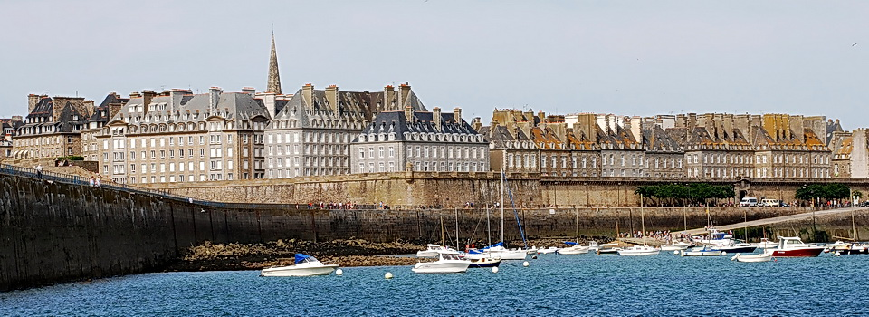 St Malo, France where the ExperiencePlus! Brittany and Normandy tour begins.