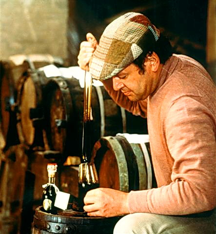 Giovanni topping the barrels
