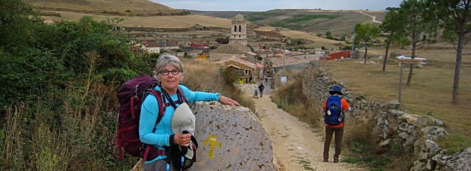 Mary Kay on the Camino de Santiago