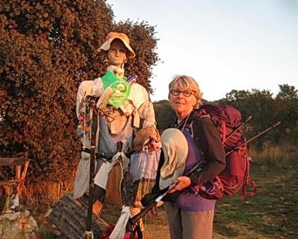 Mary Kay along the Camino