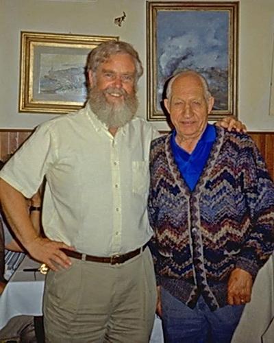 Rick Price and Gino Bartali