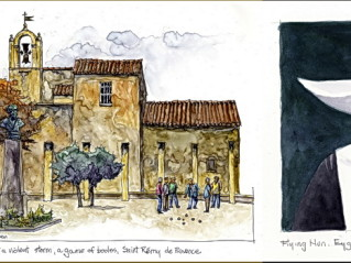 ExperiencePlus! Traveler John Owen Paints Provence