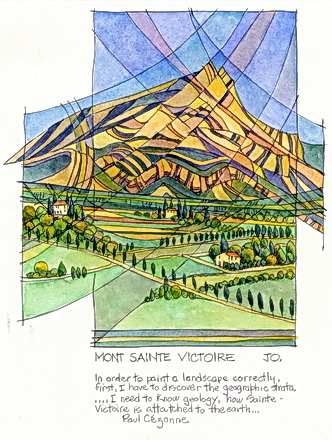 Mont Sainte Victoire by John Owen