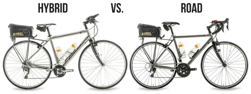 Road Bike vs Hybrid – Common Questions and Myths... | ExperiencePlus!