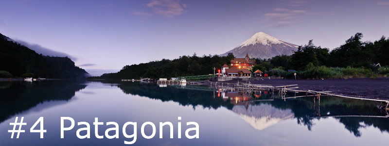 Cycling destination Patagonia