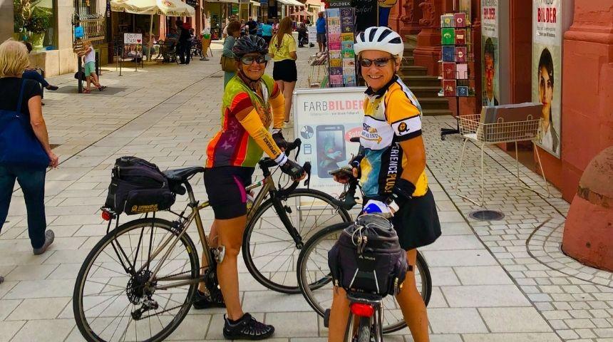 ExperiencePlus cyclists enjoy their trip through Bavaria